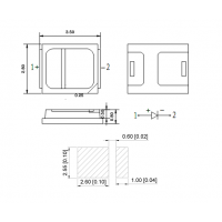 台铭光电 -2835 红外线发射管940 纯金线焊接