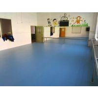 PVC塑胶卷材 4.5mmPVC地板卷材 室内PVC地板施工