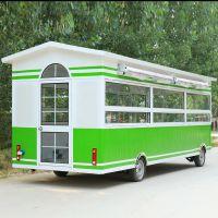 厂家新品直销电动小吃车 多功能移动售货车 流动烧烤美食车 邦驿餐车
