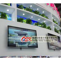 欧视卡32寸竖式网络广告机 分屏播放SD卡U盘 无线WIFI连接