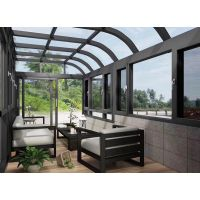 长沙花园玻璃房 别墅阳光房 屋顶阳光房 露台玻璃阳光房厂家直销