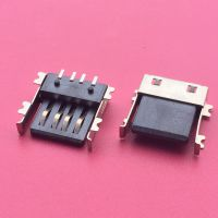 A母 2.0 超薄型 USB母座 前贴后贴 黑色胶芯 母座 超薄USB插座