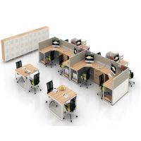 朗哥家具 职员桌 办公卡位 屏风办公桌 办公家具厂家直销36
