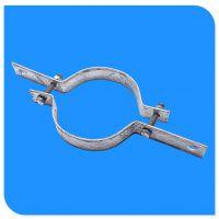 热镀锌半圆抱箍生产厂家 抱箍价格 光缆金具杆用紧固件 子母抱箍
