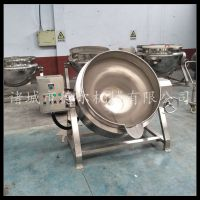 豌豆凉粉夹层锅德尔 厂家供应电加热|不锈钢|带搅拌夹层锅