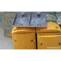 郑州凌腾橡胶减速带塑钢减速带厂家直销