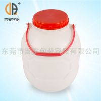 PP 供应包装桶 6L有耳圆罐 6kg包装食品桶