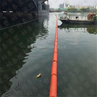 水面保洁浮式拦污排 浮筒式警示浮桶