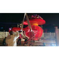 景观不锈钢雕塑灯厂家供应 西安红灯笼 不锈钢