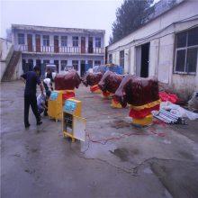 热销成人仿真斗牛机游乐设施 景区儿童主题游乐园斗牛机玩具 儿童翻转机器牛