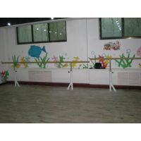 学校家庭用移动、固定、双层升降舞蹈把杆厂家 体操垫 舞蹈房专用地胶 河北利伟体育