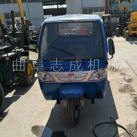 全面加厚2T工程专用翻斗车电启动柴油装卸车建筑载重砂石车三轮车