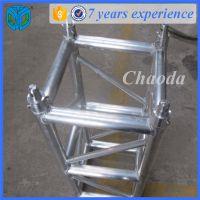 搭建优质演出桁架 加强型桁架出售 金属中型灯光架400*400生产