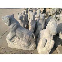 1米高 天青石 花岗岩 石雕 十二生肖