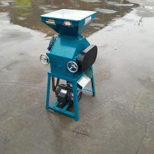 燕麦加工麦片机 五谷杂粮挤扁机 花生破碎机 家用电动小型豆扁机