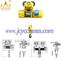 Electric Wire Rope Hoist with Trolley or Fixed