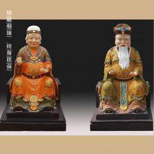 河南云峰佛像雕塑厂供应2.3米火神爷 火德真君神像 玻璃刚彩绘佛像