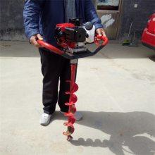 汽油手提式挖坑机 建筑工地立柱打眼机 畜牧围栏埋桩挖穴打坑机