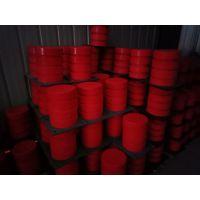 宏昌牌JHQ-C-20聚氨酯缓冲器 法兰盘式 起重机聚氨酯缓冲器 红色防撞垫