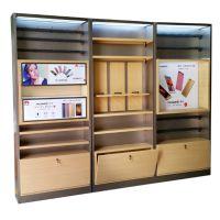 新款华为配件柜 华为3.0不锈钢配件柜华为新款收银台 配件柜