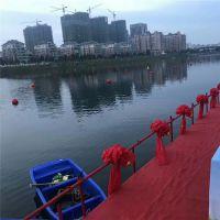 不褪色塑料警示浮球50公分海上滚塑浮漂加工