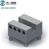 厂家热销槽型不锈钢夹头 快速换装夹头 可兼容erowa系统电极座