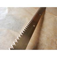 专业生产镀锌镀钴锯齿刀片