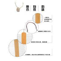 定制logo女装挂衣架 木质成人防滑衣架 厂家批发夹板衣架