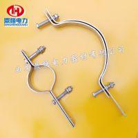 ADSS光缆抱箍 杆用紧固件 电杆抱箍示意图