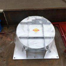 宇东水利定制PMY直径1.5米法兰连接式管道污水钢制拍门