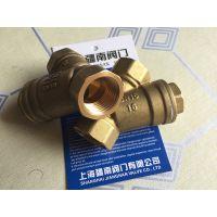 1/2NPT黄铜过滤器生产 美标NPT螺纹标准尺寸 上海疆南阀门1/2寸供应