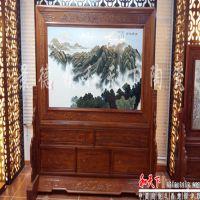景德镇陶瓷板画瓷器版画手绘粉彩瓷画家居饰品摆件装饰画坐屏