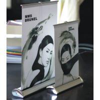 专业易拉宝制作厂 铝合金易拉宝 塑钢易拉宝 伸缩杆易拉宝 双面易拉宝 亦联广告