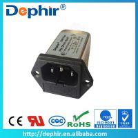 供应IEC插座式电源滤波器/带一个保险丝盒滤波器 DF101系列