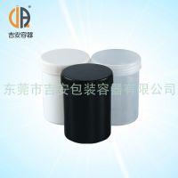HDPE 300毫升油黑罐 塑料罐 包装大口瓶 厂家直销