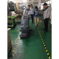 供应高美GM160大型水箱全自动电瓶式洗地机