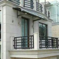北京定制别墅露台棚 家用汽车停车棚 阳台窗遮阳蓬遮雨棚 铝合金遮阳棚