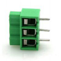 现货DG166-5.0MM间距绿色弹片式照明用端子台DA166 FEA2.5