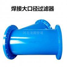生产污水池Y型过滤器 法兰式连接过滤器 碳钢过滤器生产厂家