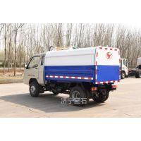 江西九江汽油版挂桶式垃圾车 4.5方箱体时风底盘国五标准的环卫垃圾车促销时