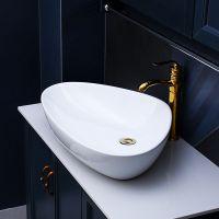 卫生洁具陶瓷卫浴创意独特纯白色洗手洗脸艺术盆