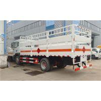 青海东风D9液化气瓶运输车,液化气槽车,煤气坛子运输车