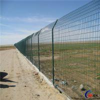 圈地养殖防护厂区车间铁丝护栏网 球场监狱隔离围栏双边丝护栏网