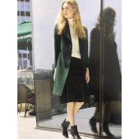 卡拉贝斯现货多种款式多种风格冬貂绒大衣女装批发