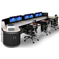 河南省反虚假信息诈骗监控室调度平台报价 监控室指挥电脑桌价格 调研室控制台厂家