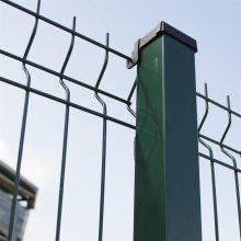 包塑护栏网厂家 草坪护栏 铁丝网围栏多少钱
