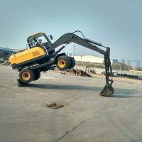 驾驶室非常宽敞的小型挖掘机 操作舒适的金鼎立挖掘机