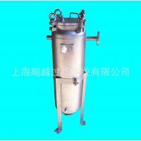 供应上海飚越BY-1G 保温袋式过滤器 夹套袋式过滤器