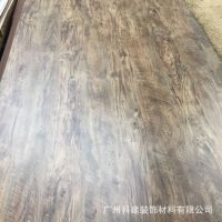 伊美家复古风格防火板507,木纹面做旧仿古耐火板餐饮连锁胶合板