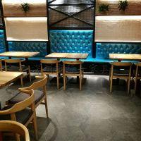 福田、南山快餐店桌椅 喜家德水饺店桌椅款式 现代中式